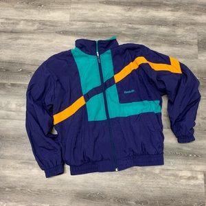 Vintage Reebok windbreaker jacket size small